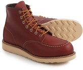 """Red Wing Shoes 8131 6"""" Classic Moc Boots - Leather, Factory 2nds (For Men)"""
