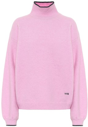 Victoria Victoria Beckham Wool-blend turtleneck sweater