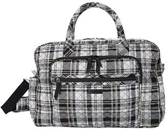 Vera Bradley Travel Bag - Plaid (Cozy Plaid Neutral) Handbags