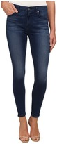 7 For All Mankind Midrise Ankle Skinny w/ Contour Waistband in Slim Illusion Luxe Medium Heritage Women's Jeans