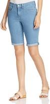 NYDJ Briella Roll Cuff Denim Shorts in Milwaukee