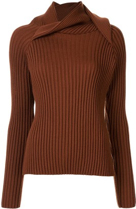 Y/Project Draped Neck Jumper
