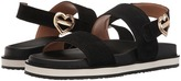 Love Moschino Metal Heart Buckle Sandal Women's Shoes