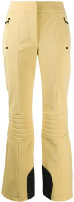 MONCLER GRENOBLE Ribbed Knee Flared Trousers