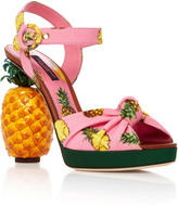 Dolce & Gabbana Pineapple Sandals