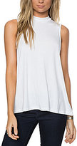 O'Neill Donovan Mock Neck Rib Knit Tank Top