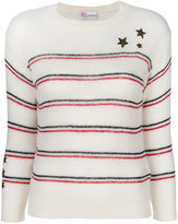 RED Valentino star embroidered jumper