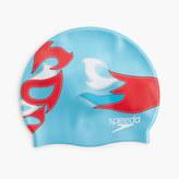 Speedo Kids' printed swim cap