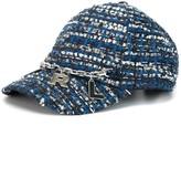 Karl Lagerfeld Paris tweed baseball cap