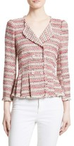 Rebecca Taylor Women's Optic Tweed Jacket