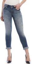 eunina Super Skinny Ankle Roller Jeans