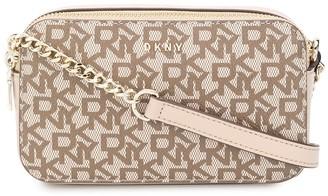 DKNY Monogram Cross Body Bag
