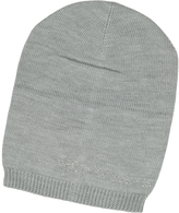 Armani Jeans Crystal Signature Wool Blend Hat