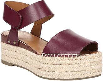 Franco Sarto Leo Leather Wedge Sandal