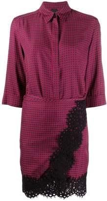 Pinko checked shirt dress