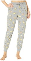 Life is Good Snuggle Up Sleep Jogger Pants (Heather Gray) Women's Pajama