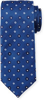 HUGO BOSS Neat Dot Tie, Blue