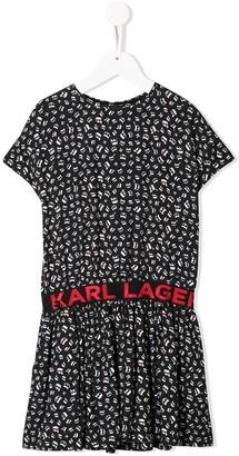 Karl Lagerfeld Paris Ikonik Aop dress