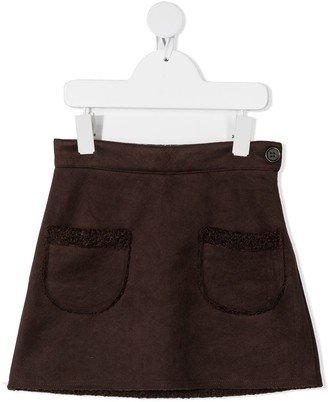 Caffe' D'orzo Patch-Pocket Midi Skirt