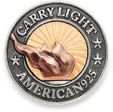 Alex and Ani LIBERTY COPPER   CARRY LIGHTTM 14kt Gold Center Medallion