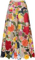 Rosie Assoulin Hodges podges floral culottes