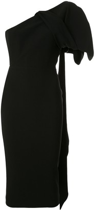 Alex Perry Wade bow detail dress