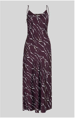 Whistles Dagma Twig Print Slip Dress
