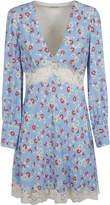 Miu Miu V-neck Floral Dress