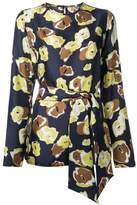 Martin Grant floral print blouse
