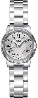 MIDO Baroncelli III Lady m0102081103300Wristwatch Women's Stainless Steel Silver Strap