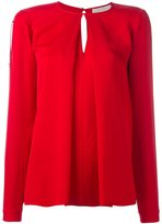 MICHAEL Michael Kors inverted pleat blouse