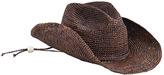 San Diego Hat Company Women's Raffia Cowboy Hat RHC1052