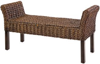 Imax Caspian Woven Bench
