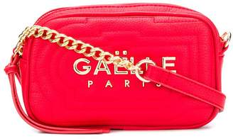 Gaelle Bonheur logo plaque crossbody bag