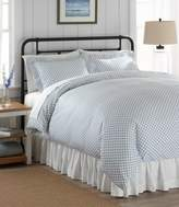 L.L. Bean L.L.Bean Sateen 340-Thread-Count Comforter Cover Collection, Lattice