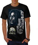 Happy Bob Marley Idol Music Love Men NEW XXXL T-shirt | Wellcoda