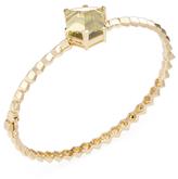 "Paolo Costagli ""Brillante Valentina"" 18K Yellow Gold & Lemon Citrine Bangle Bracelet"