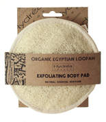 Hydrea London London Organic Egyptian LoofahExfoliating Body Pad