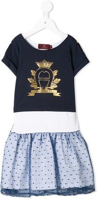 Aigner Kids Point D 'esprit Skirt Dress