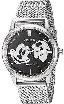 Citizen Mickey Mouse FE7060-56W (Silver Tone) Watches