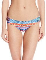 Jessica Simpson Women's Bali Breeze Hipster Bikini Bottom