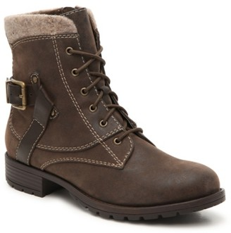 Crown Vintage Rugged Combat Boot