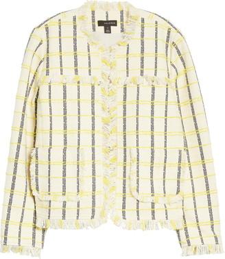 Halogen Check Tweed Jacket
