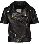 Pierre Balmain Leather Biker Jacket