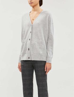Maje Maxence button-through cashmere cardigan