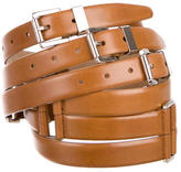 Michael Kors Multi-Strap Buckled Belt