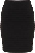 Junarose Plus Size Textured pencil skirt