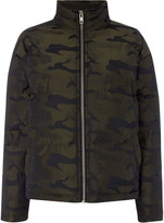 Puffa Label Lab Camo jacket