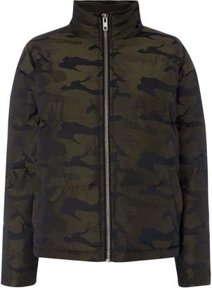 Puffa Label Lab Camo jacket