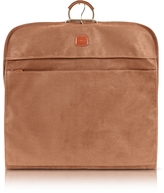 Bric's Life Camel Micro-Suede Garment Bag